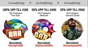 Redbet bonus och bonuskoder