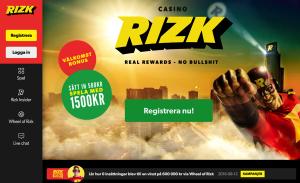 Rizk - ett innovativt nätcasino