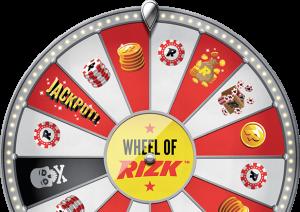 Wheel of Rizk - En innovativ och rolig funktion hos Rizk Casino